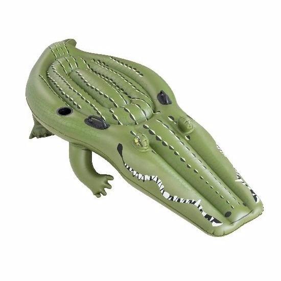 2726bfa7e9e Hawaii feest: Speelgoed opblaas krokodil 259 x 104 cm